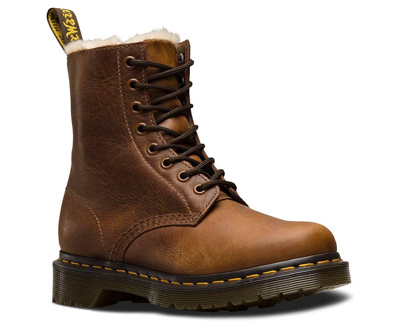 Dr. Martens 1460 Serena 8 Eye Boot Butterscotch Orleans