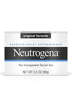 Neutrogena Facial Bar, Original Formula, 3.5 oz (Pack of 3)