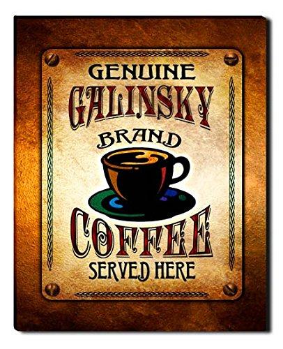 Galinsky Print (Galinsky Brand Coffee Gallery Wrapped Canvas)
