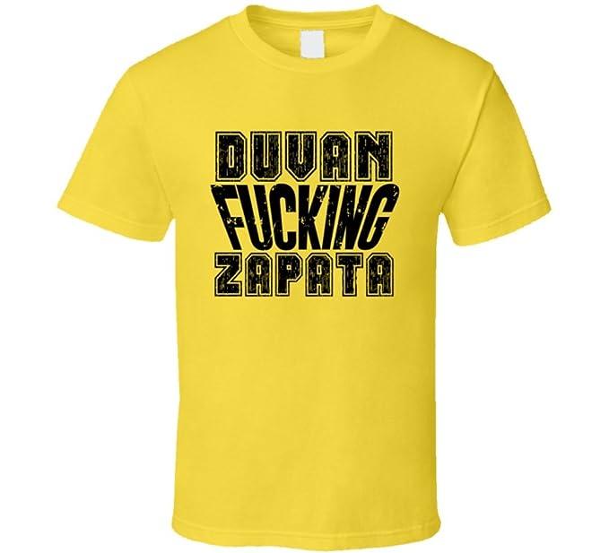23b8d64e391 Amazon.com  Fcking Duvan Zapata Colombia World Cup 2018 Soccer Fan T Shirt   Clothing
