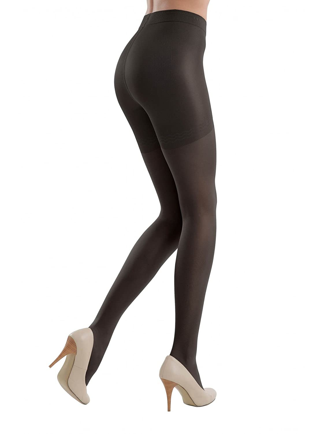 30112d6e5aaca Conte Women's Shaping Nude Pantyhose Tights - Control Compression 40 Denier  at Amazon Women's Clothing store: