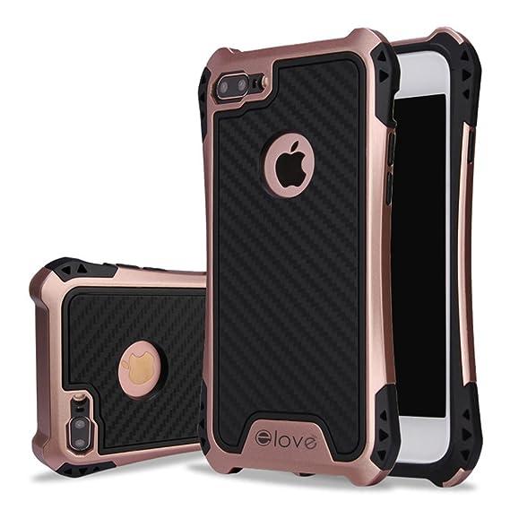 Amazon Com Iphone 7 Plus Case Elove Iphone 7 Plus Hybrid Soft