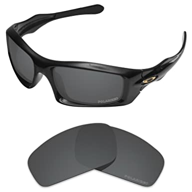 c8cafd2483 Tintart Performance Lenses Compatible with Oakley Monster Pup Polarized  Etched-Carbon Black