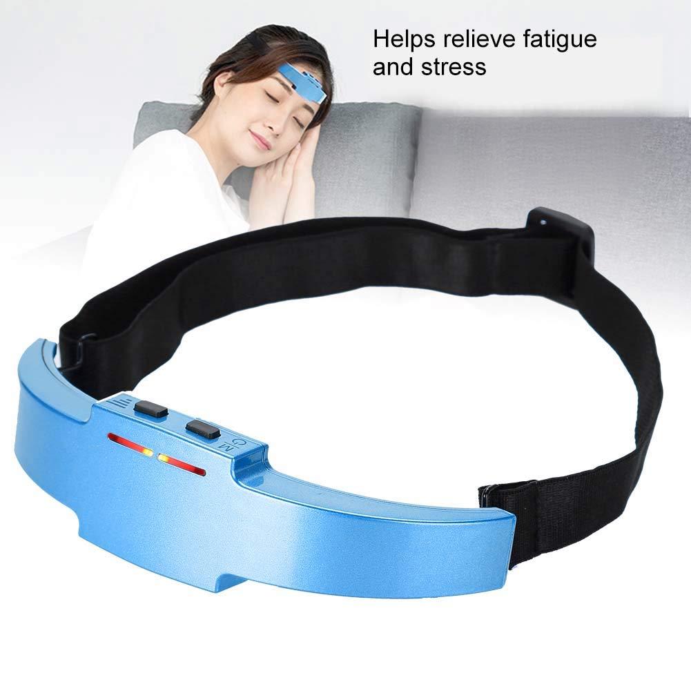 02# Testa massaggiatore testa massaggiatore per lo stress sollievo e meglio dormire 2 colori multifunzionali testa elettrica dispositivo massaggiatore sonno terapia sonno macchina