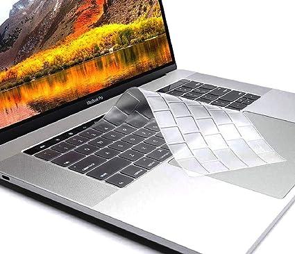 buy online b61e3 27a33 Oaky A1707/A1990 MacBook Pro 15 inch 2017/2018 TPU Clear Keyboard Protector  Skin