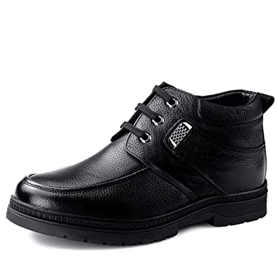 Cotton-padded Shoes Elevator Shoes Winter Thermal Boots Elevator Shoes Elevator 6cm