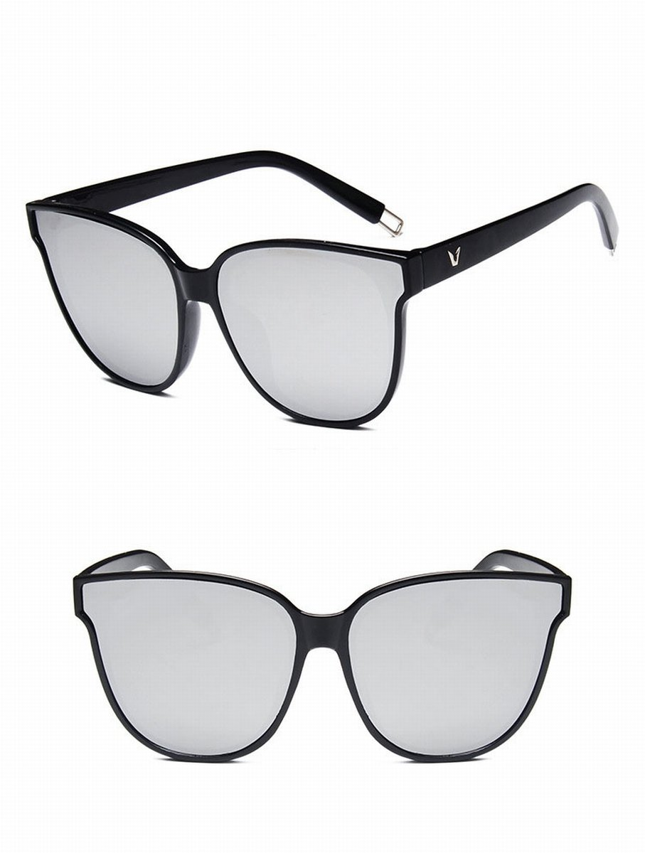 mode Große rahmen sonnenbrille ozean Linse sonnenbrille helle farbe ...
