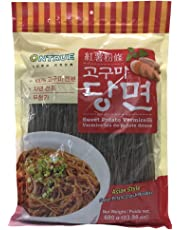 ONTRUE Sweet Potato Vermicelli, Korean Vermicelli Gluten Free, 100% Sweet Potato Noodles, 0 No Additive, 100% Non-Alum Food, 23.98 Ounce