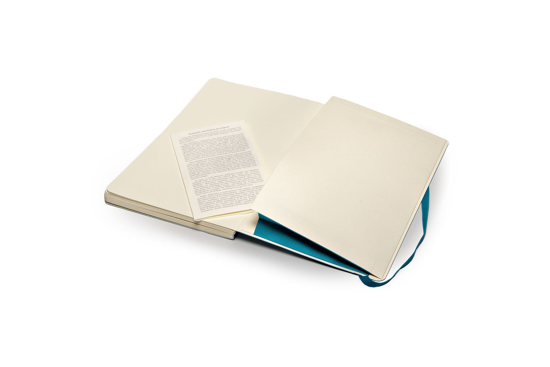 Moleskine Classic Notebook Large (5 x 8.25''), Dotted Pages, Underwater Blue, Soft Cover Notebook for Writing, Sketching, Journals by Ingramcontent (Image #5)