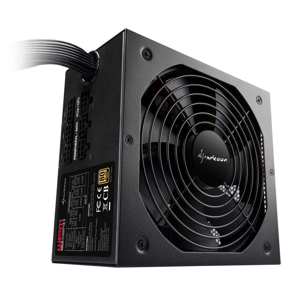 Alimentation PC Sharkoon WPM Gold Zero 750 W semi-modulaire certifi/é PLUS GOLD