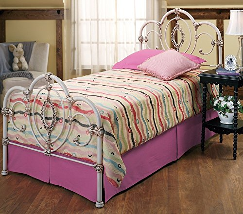 Hillsdale Furniture 1310BTWR Victoria Bed Set with with Rails, Twin, Antique - Bed Victoria Twin