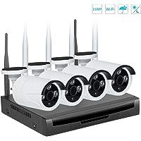 Kit de vigilancia de Video inalámbrico, EMAX 1080P
