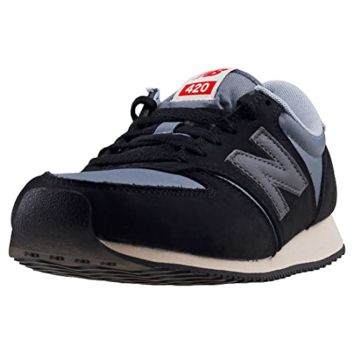 New Balance U420 Borrowed From Him Uomo Black Grey Scarpe 8.5 UK