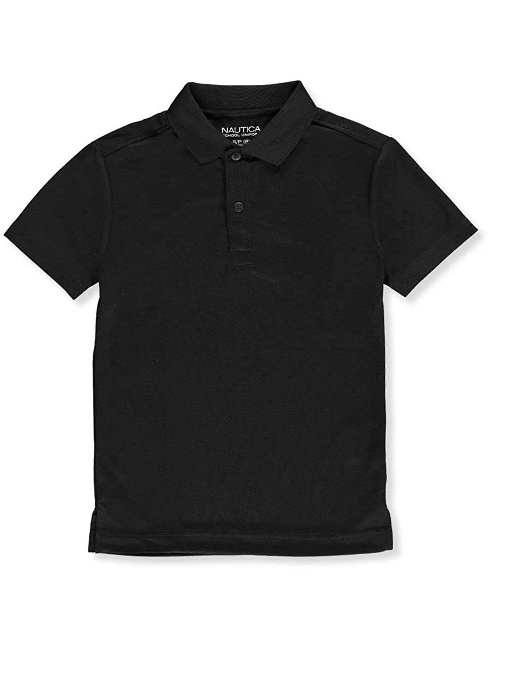 Nautica Big Boys' S/S Moisture Wicking Performance Polo