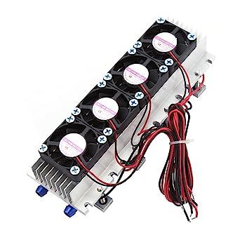 Modulo Peltier di raffreddamento termoelettrico per CPU codice TEC1-12706