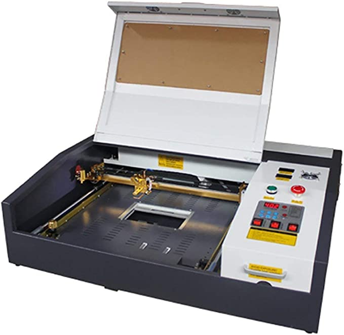 Ten de High 4040 400 x 400 mm 15.7 x 15.7 inches 40 W/50 W 220 V Crafts – Laser Engraving Machine with USB Port ...