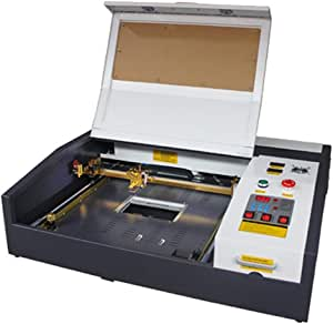 Ten de High 4040 400 x 400 mm 15.7 x 15.7 inches 40 W/50 W 220 V Crafts – Laser Engraving Machine with USB Port, versión estándar., TH-CO2-JK4040-50W-BP: Amazon.es: Bricolaje y herramientas