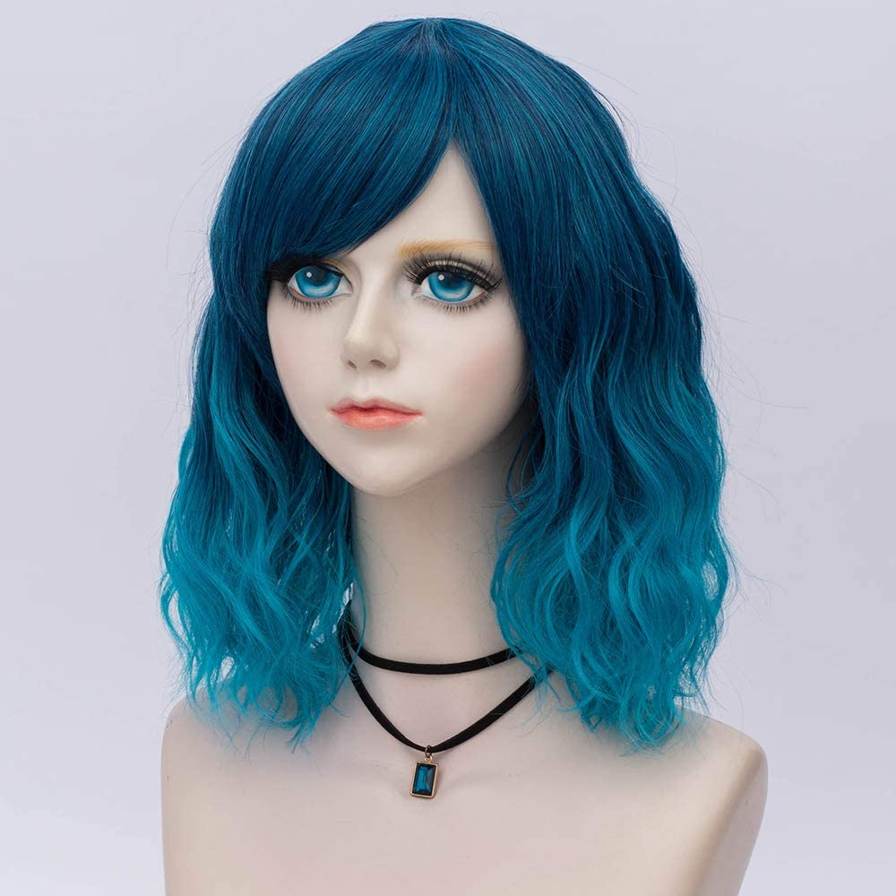 Wig Cap Probeauty Sweety Collection Lolita 40CM Short Curly Women Lolita Anime Cosplay Wig