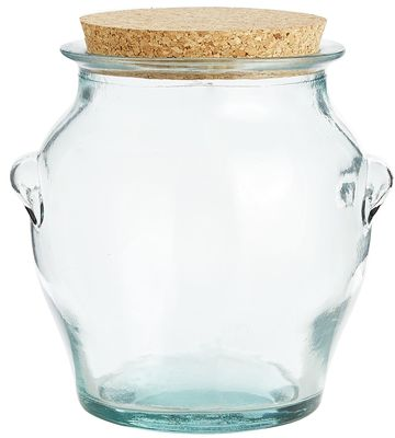 Recycled Glass Canister | Pier 1 Imports
