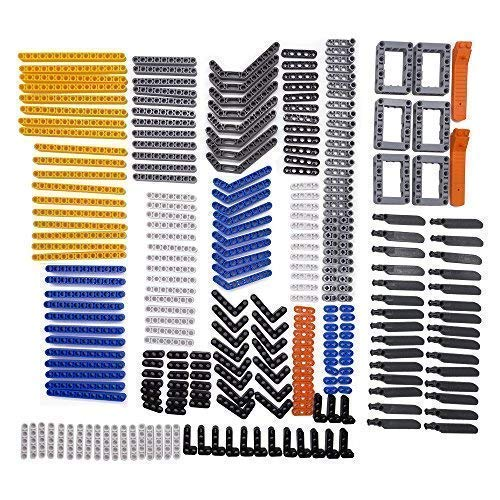 Technic Liftarm Brick Separator Chassis Frame Liftarm Beam Rotor Helicopter - 280 Pieces Beams Axles Connectors Bricks Sets Technic Beams Technic Parts (Chassis Frame)