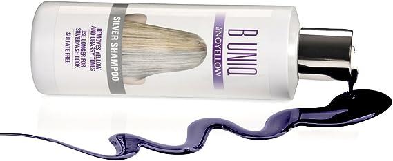 B Uniq - Champú matizador con pigmentos violetas para ...