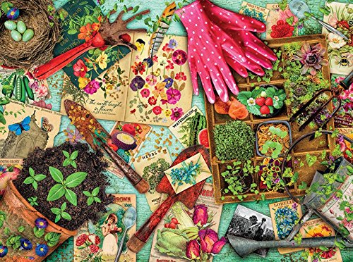 1000 Piece Vintage Garden Puzzle Ceaco Aimee Stewart 3383-2