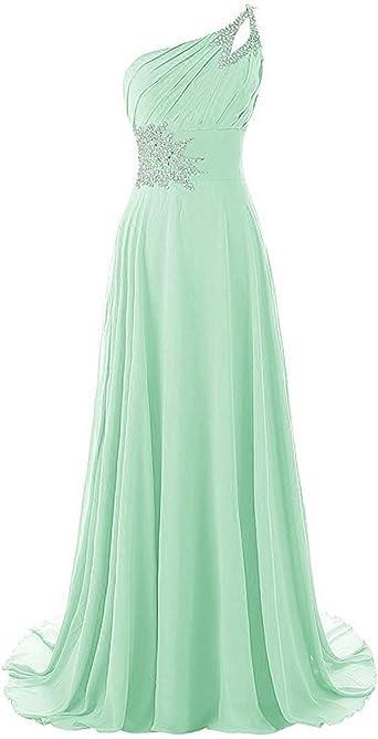 Aqua Color Evening Dresses