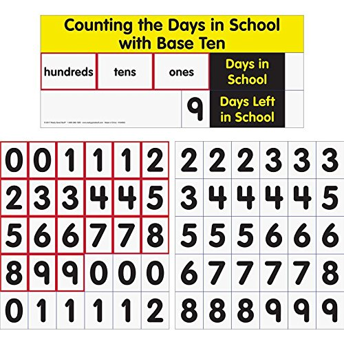 Counting The Days with Base Ten Pocket Chart