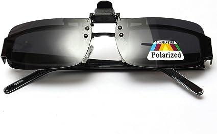 OUTERDO Gläser Grau Polarisiert Flip auf Clip auf