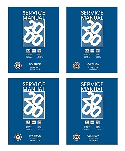 2000 gmc factory service manual