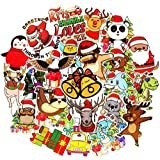 Christmas Stickers Big 50 PCS Aesthetic Stickers Pack for Party Water Bottle Laptop Notebook Phone Suitcase Teens Girls Kids