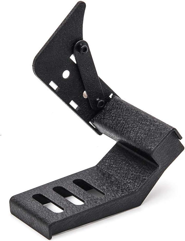 Adjustable, Wrinkled Black KMFCDAE Dead Pedal Left Side Foot Rest Kick Panel Fit for 2018-2020 Jeep Wrangler JL JLU /& Unlimited