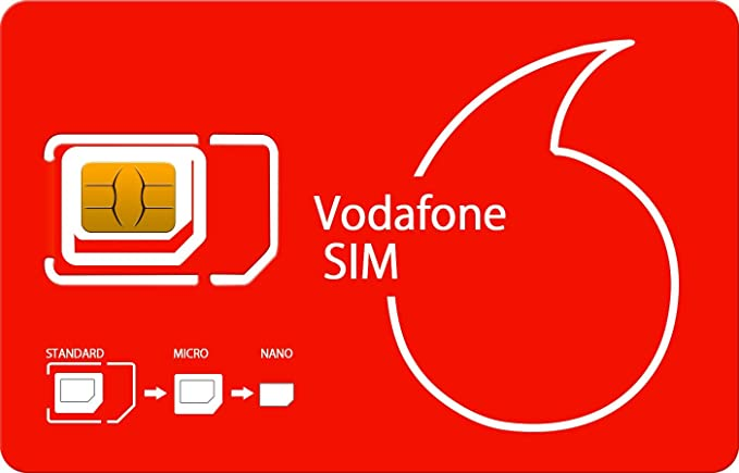 Amazon.com: PrePaid Vodafone UK Francia Italia Alemania ...