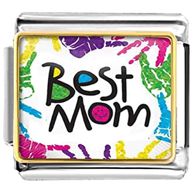Amazon.com  LuckyJewelry Mothers Day Best Mom Nomination Etched ... d79134758