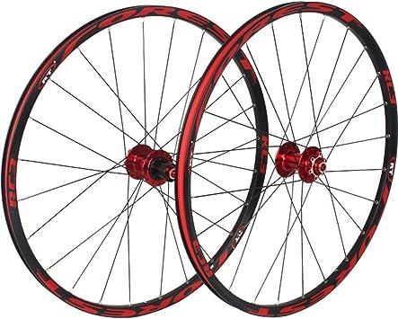 MZPWJD Ruedas traseras Delanteras de Bicicleta para 26