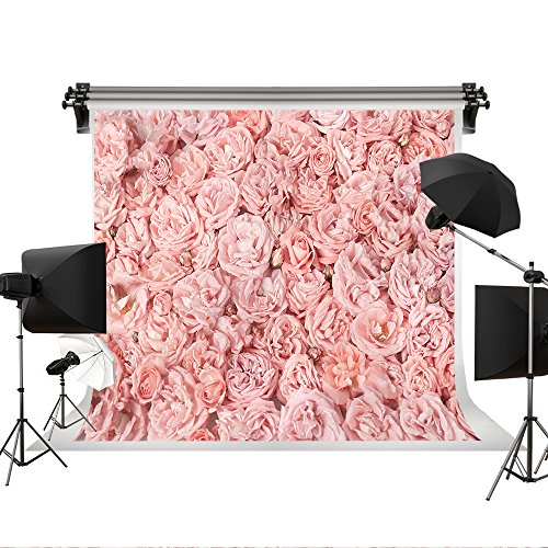 Kate 10x6.5ft/3x2m Wedding Background Flowers Photo Backdrops Pink Rose Floral Backdrop Wedding Photography Backgrpunds Photo Photography Studio Props