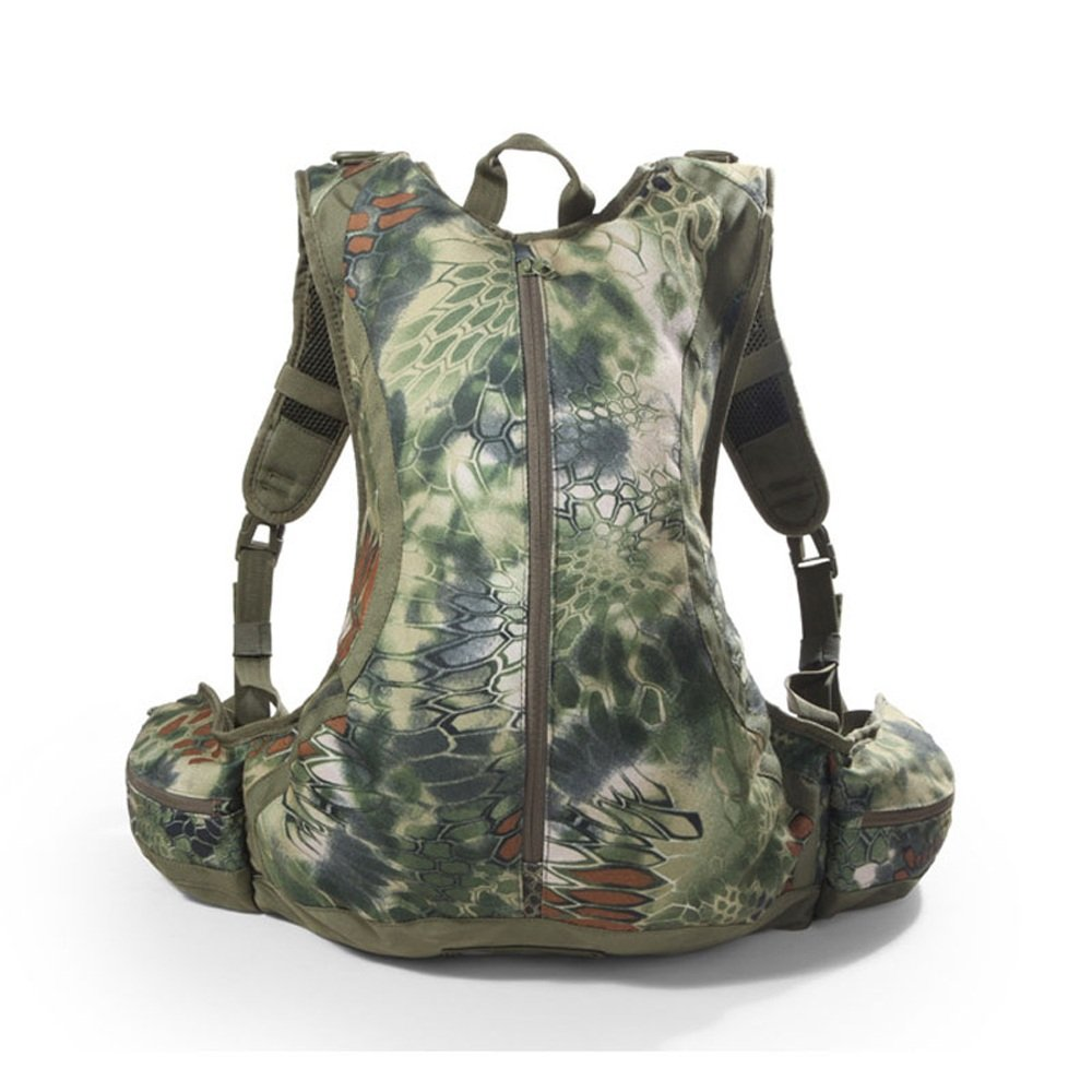 Asdf 20L Outdoor Waterproof Riding Mountaineering Bag Chief New Python Pattern Camouflage Backpack Back Armor Type Backpack