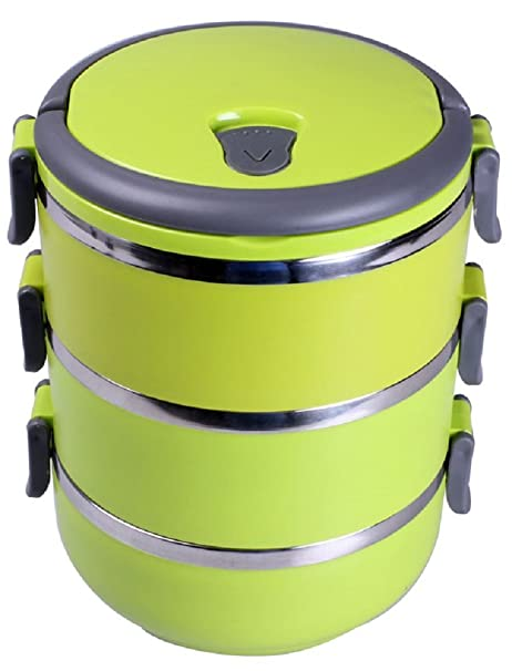 Amazon Com Kngluv Stainless Steel Food Storage Container Food