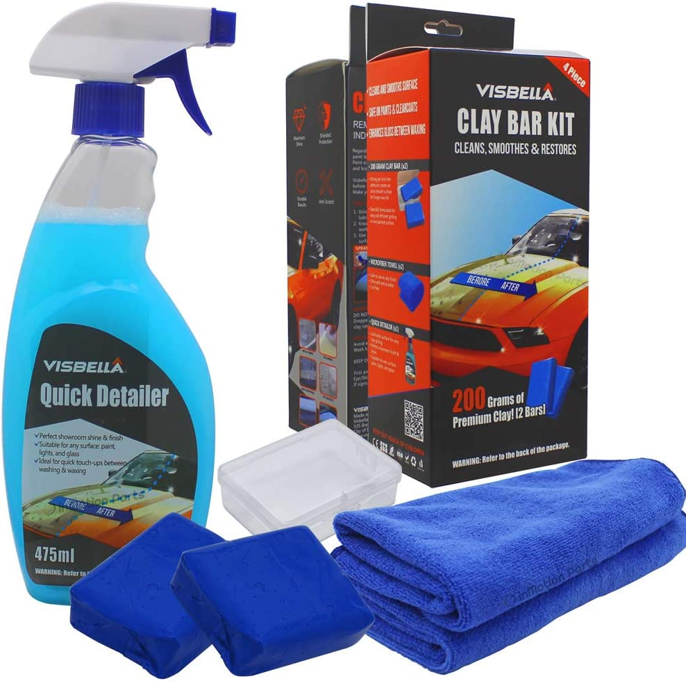 Visbella Clay Bar Auto Detailing Kit