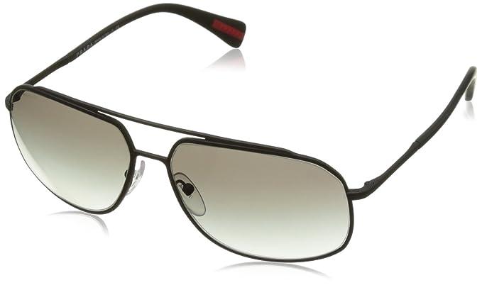 792bdf577d40 Prada Linea Rossa Men's PS 56RS Sunglasses 60mm at Amazon Men's ...
