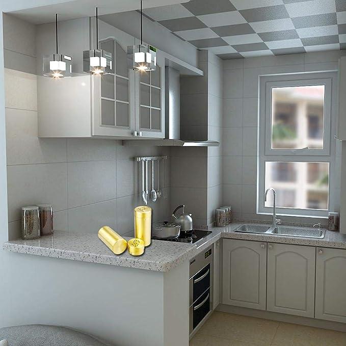 Argento BESTONZON 2 PZ Tappo per lavabo foro colino,Lavello da cucina Coperchio del filtro Spazzatura Tappo di scarico Filtro