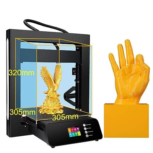 ZHQEUR Impresora 3D A5S actualizada con Fuente de alimentación ...