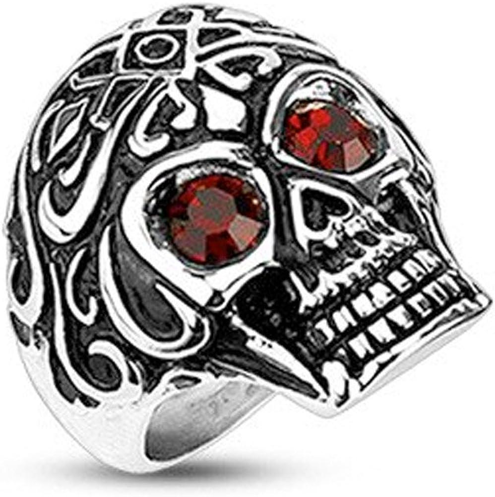 biker/'s ring bikers jewelry size 13 12 skeleton ring 13.5 ring, steampunk ring Black skull ring black skull mens ring goth ring