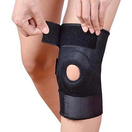 Rodillera protectora ajustable Baloncesto Fitness Escalada ...