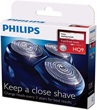 Philips hq9/50 hq9/40 hq9/52 Philishave Norelco triple track 3 ...