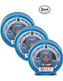 Milrose 70885 Blue Monster 1/2 Inch x 1429 Inch Blue Teflon Tape (3 Pack)
