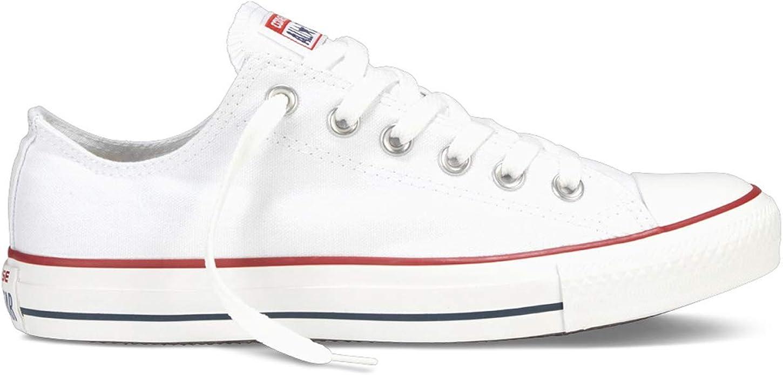 Converse Chucks Chuck Taylor Sneakers Low Top Damen Herren Unisex Weiß