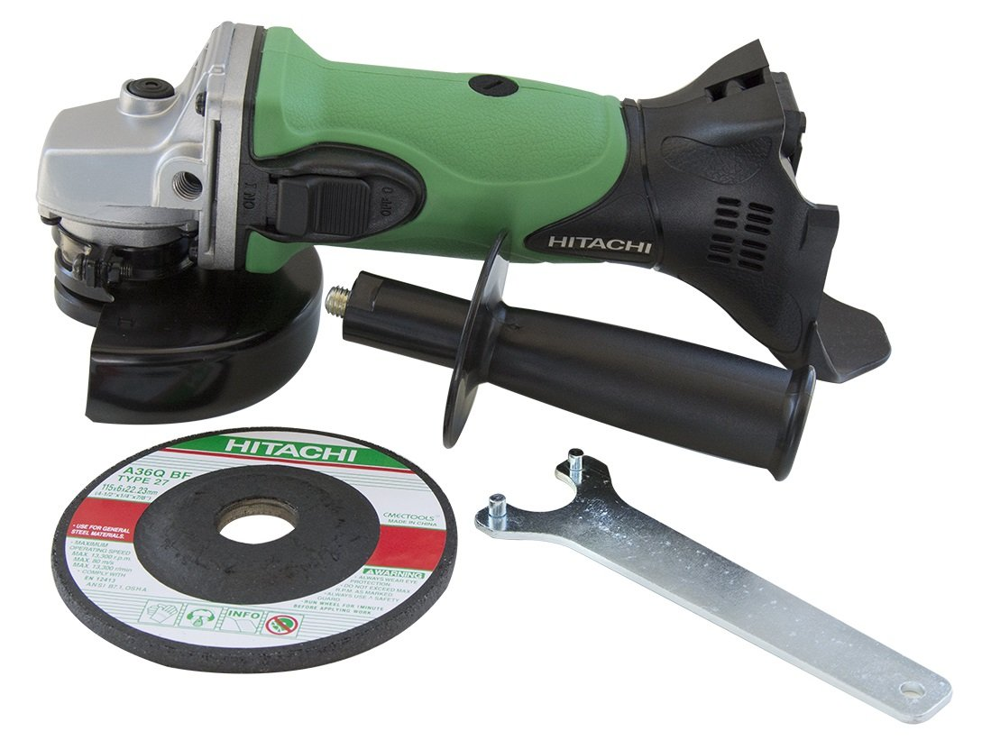 "Hitachi G18DSLP4 18V Lithium Ion 4-1/2"" Angle Grinder (Tool Only, No Battery)"