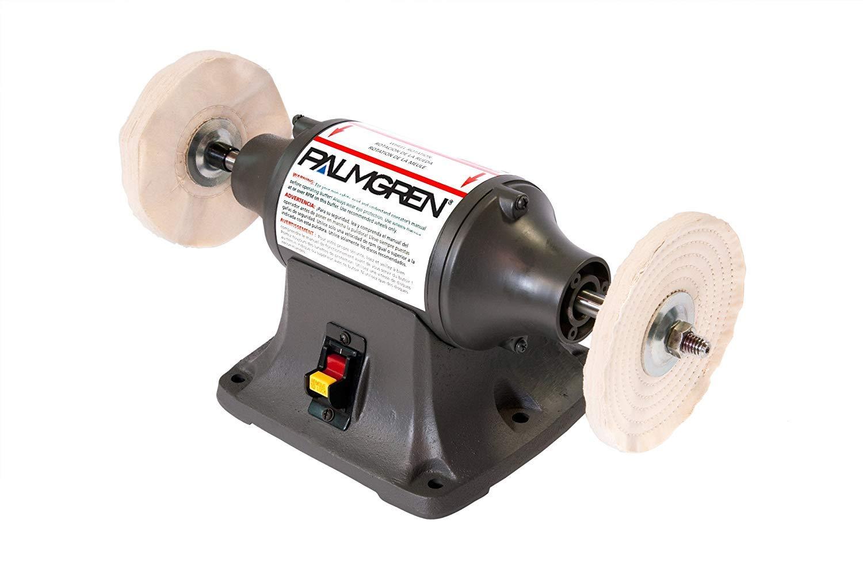 1 -PK Palmgren 9682083 Palmgren Powergrind Heavy Duty Buffer 82083 8 Inch Wheel 3/4 Hp