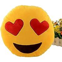 Miryo-Cojín con diseño de emoji Emoticonos Emoticones ojos
